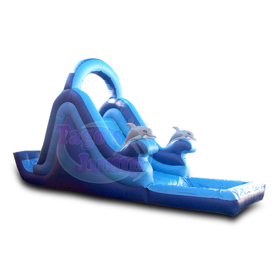 WS-118 Dolphin Water Slide